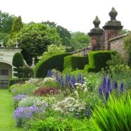 Flower border at Arley Hall Gardens