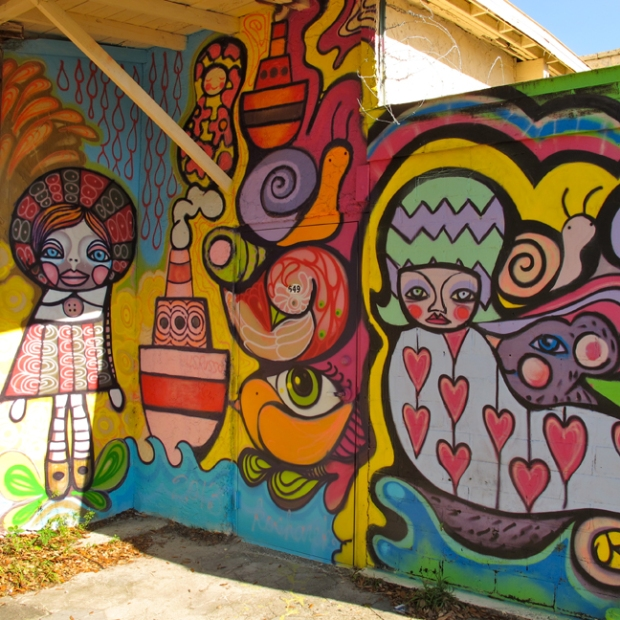 Street Art in St Petersburg, Florida