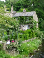 Gresgarth Hall from the river