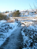 Winter walk to Darwen Tower