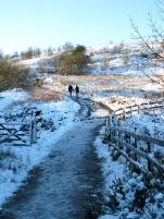 Winter walk to Darwen Tower