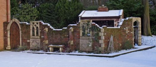 Garden folly, Turton Bottoms, Lancashire