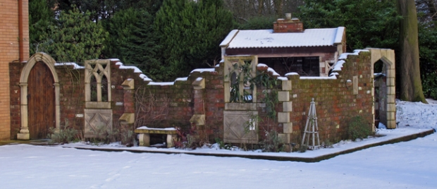 Garden folly, Turton Bottoms, Lancashire