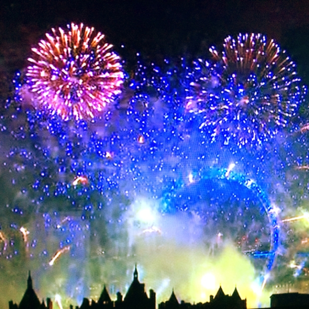London New Year 2015