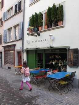Isebahnli restaurant, Zurich