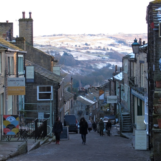 Main Street, Haworth, Yorkshire