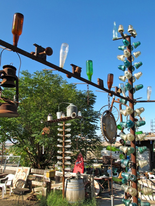 At Elmer's Bottle Tree Ranch