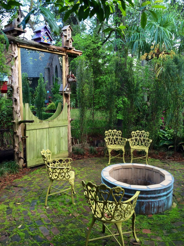 Sneak peek into a garden folly susan rushton for Garden folly designs
