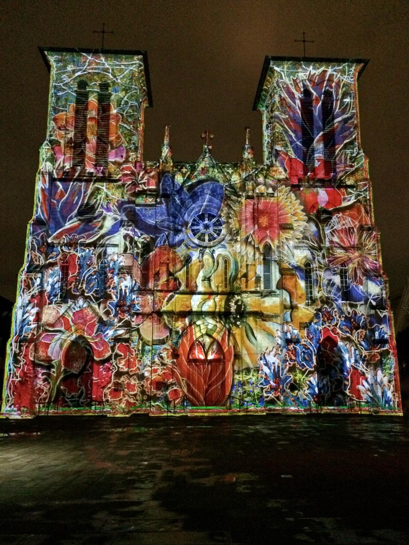 San Fernando Cathedral Light Show By Xavier De Richemont