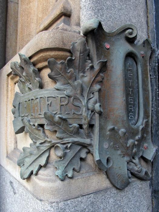 Decorative letter box