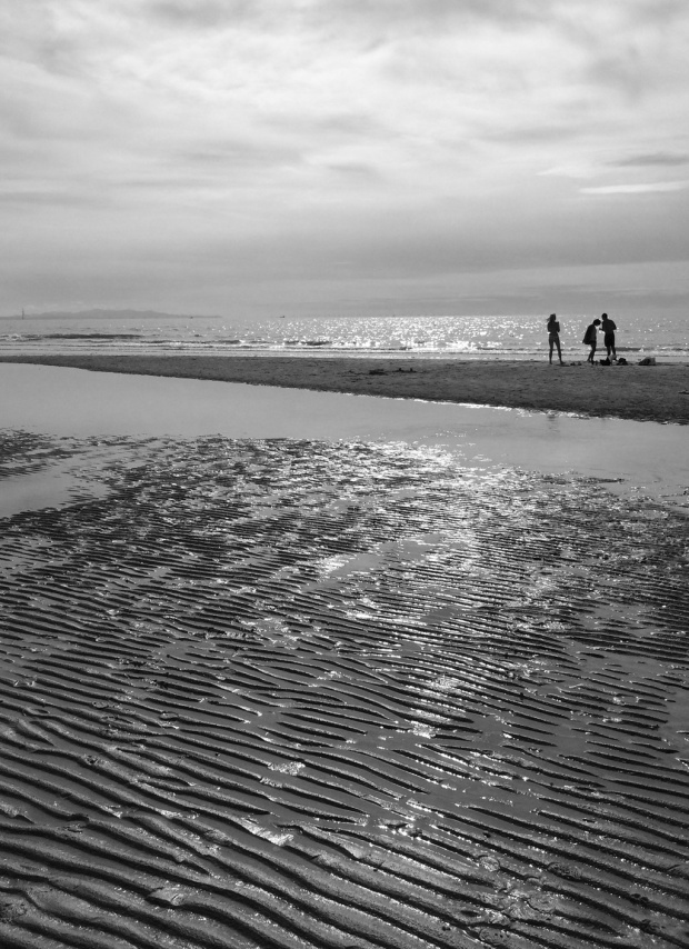 Formby Point BW