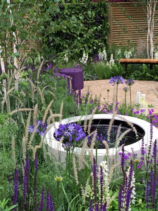 Wellbeing of Women garden water feature
