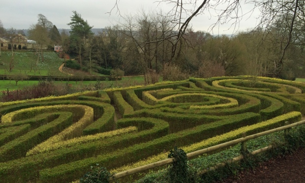 Anniversary Maze at The Painswick Rococo Garden