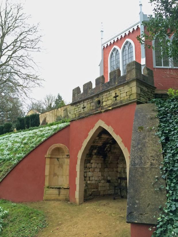 The Eagle House at Painswick Rococo Garden
