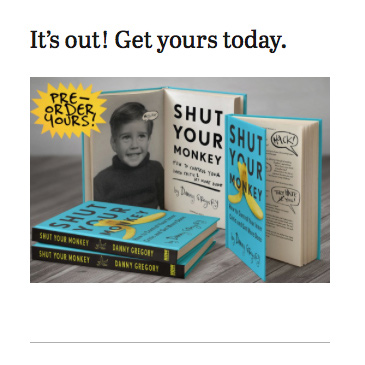 Danny Gregory: Book Advert Microcopy