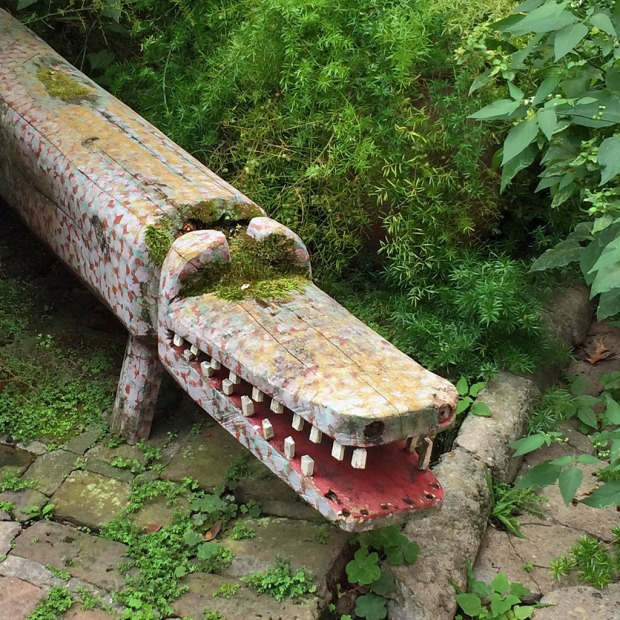 Wooden Alligator