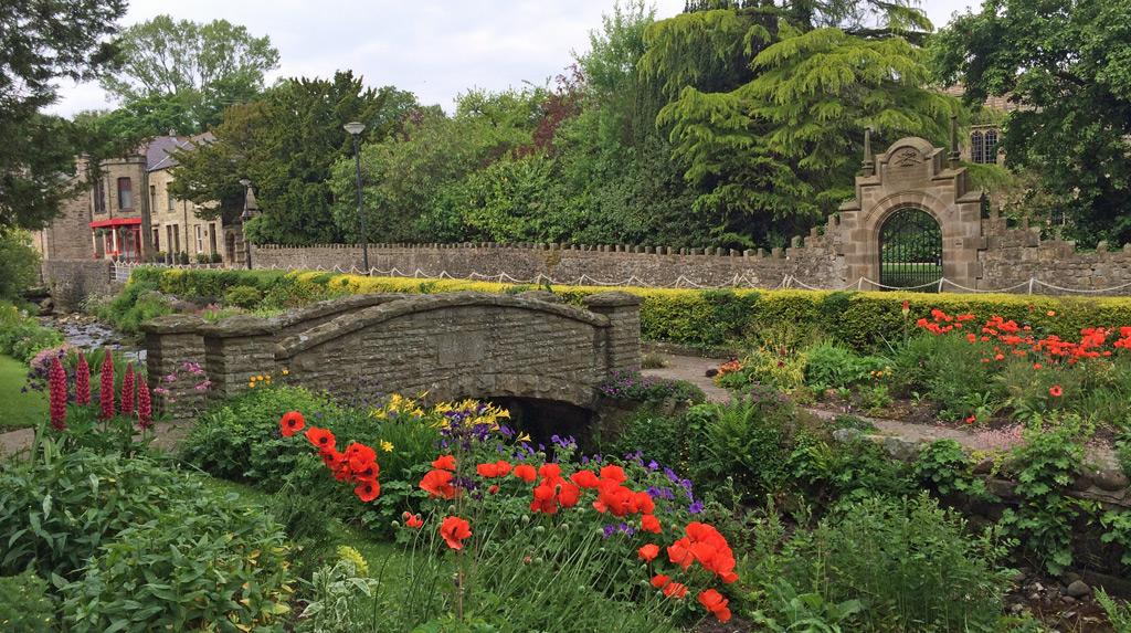 Arched Bridge and Gateway at Waddington