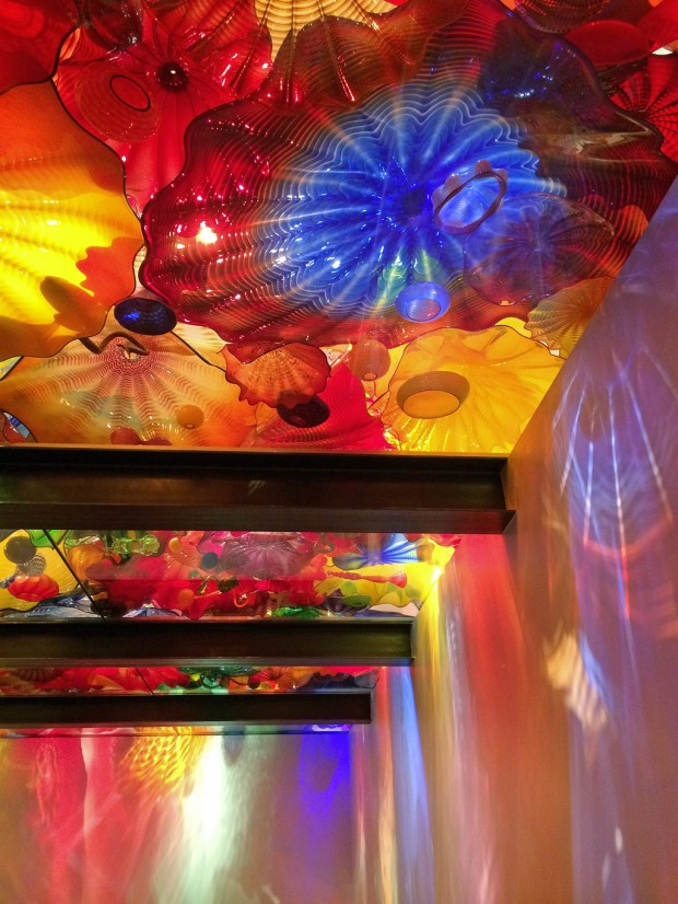 Chihuly Persian Ceiling With Reflections
