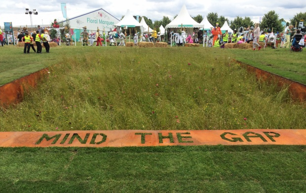 Mind The Gap at Hampton Court Flower Show