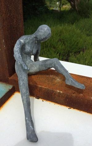 Back to back sculpture: her