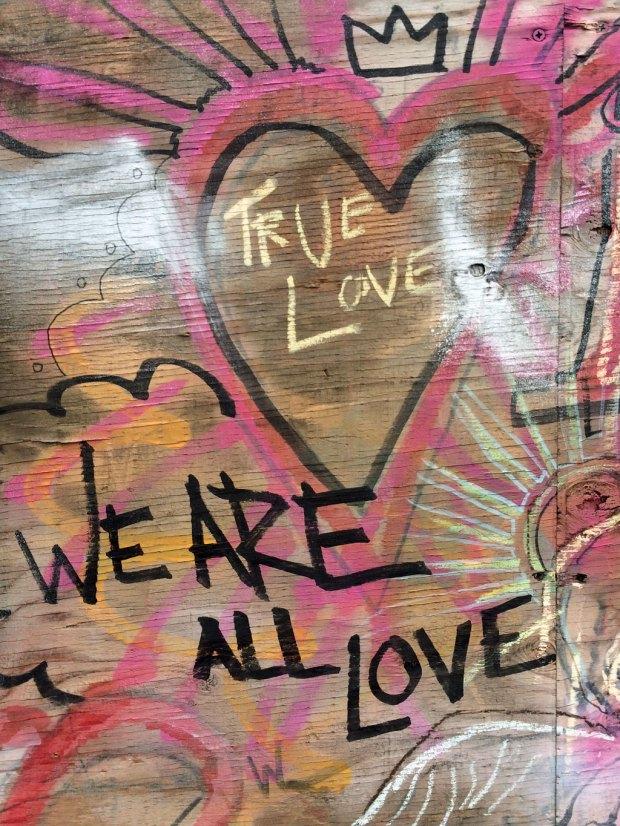 Seattle graffiti - love