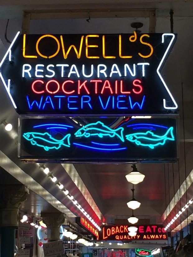 Lowell's Restaurant sign