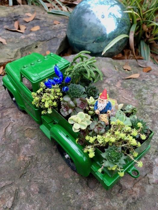 Miniature truck garden