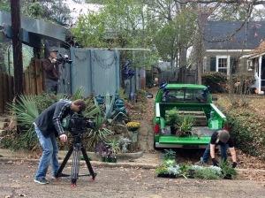 Planting the truck garden