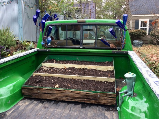 Truck garden, ready-to-plant