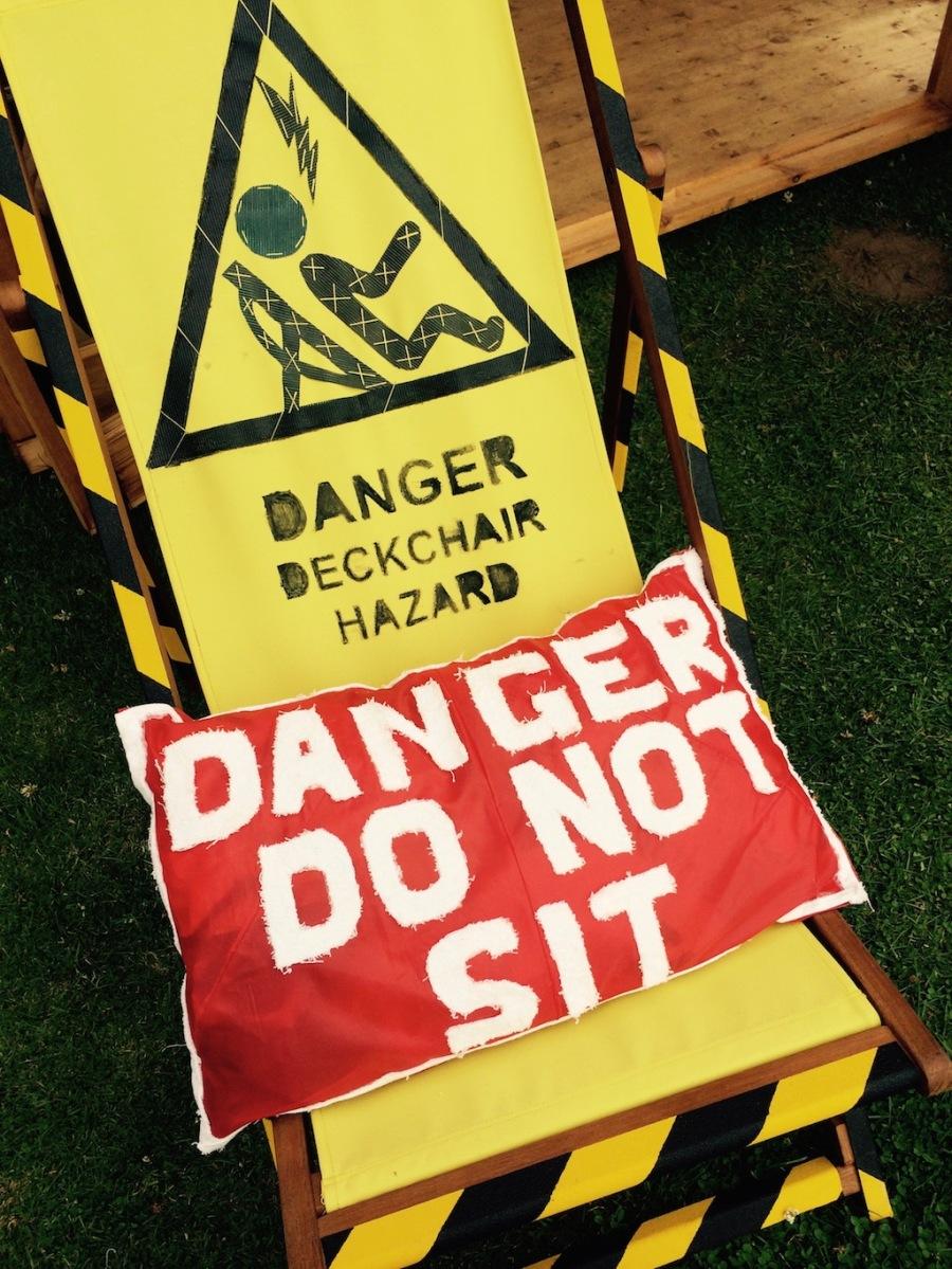 Deckchair danger