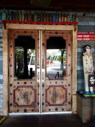 Delta inspired door