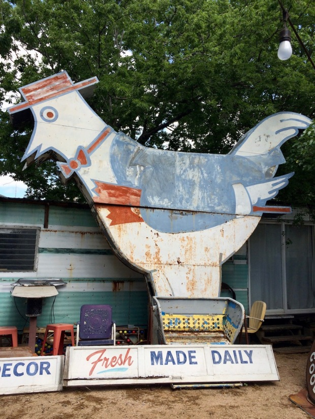 Large cut out bird
