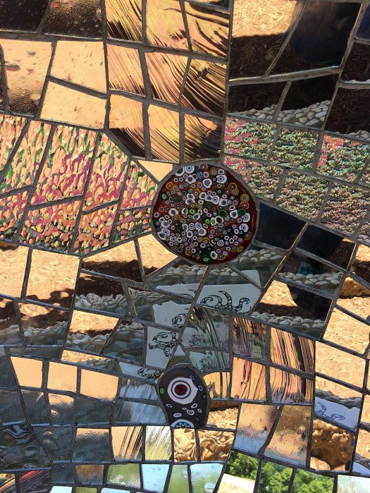 Reflections in mirror mosaic
