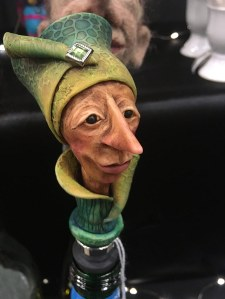 A sharp-nosed lady bottle saver