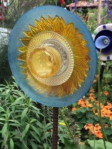 Garden daffodil art