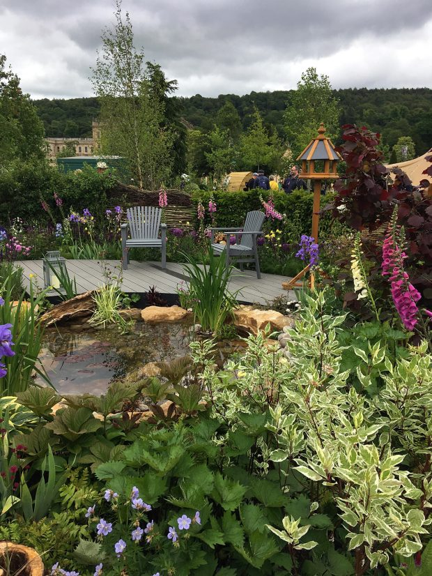 RHS Garden for Wildlife at RHS Chatsworth Flower Show