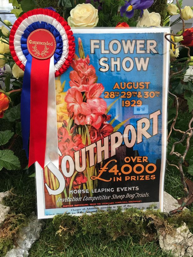 Southport Flower Show Poster from 1929