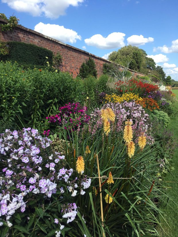 Arley Hall perennial border