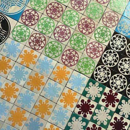 Vortex garden tiles