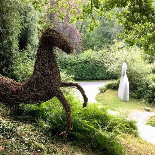 Broomhill Art Hotel garden