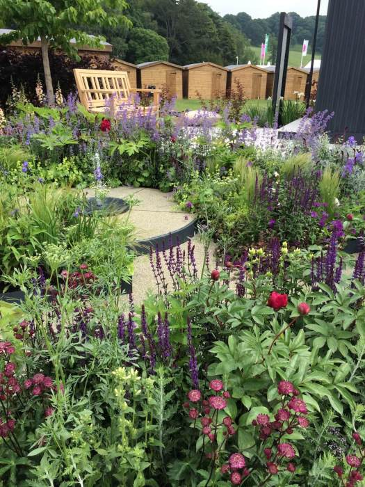 CCLA garden at the RHS Chatsworth Flower Show 2018