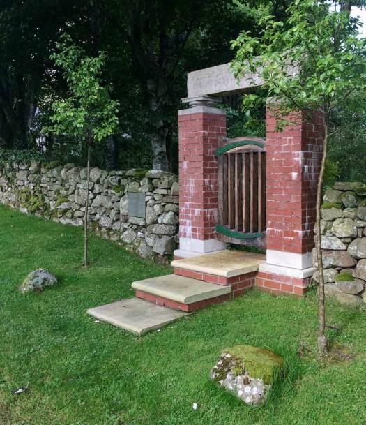 Little Sparta entrance