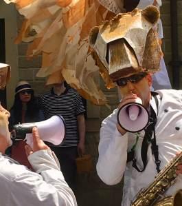 Handmade Parade musicians