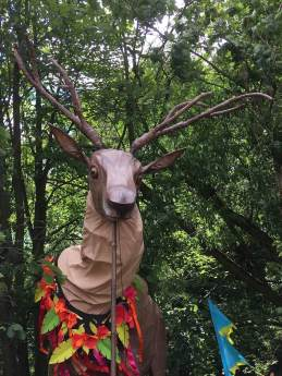 Stag puppet, Hebden Bridge 2019