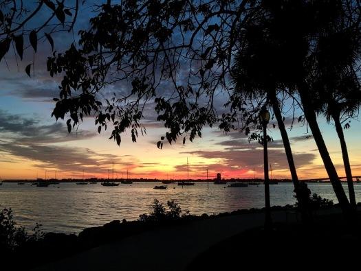 Sarasota Bay silhouettes