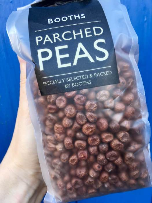 Packet of parched peas