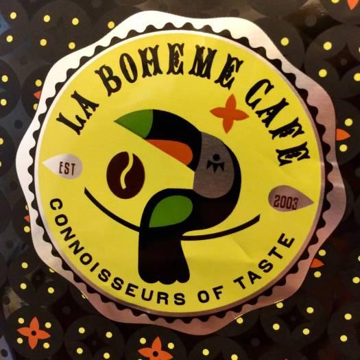 La Boheme Cafe logo