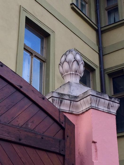 Architectural detail, Prague