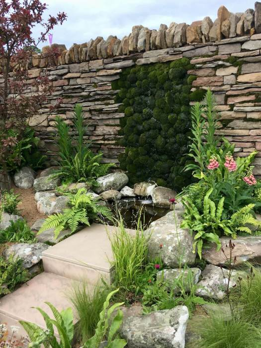 Elements of Sheffield dry stone wall
