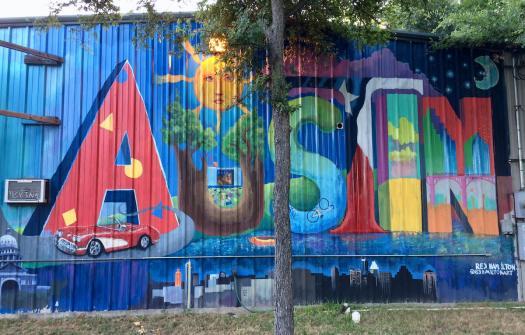 Austin in letters by Rex Hamilton
